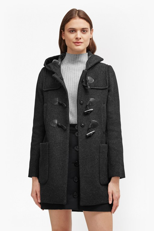 Complete the Look Teddy Check Hooded Duffle Coat