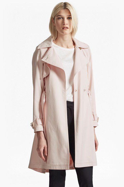 Oversized Lapel Trench