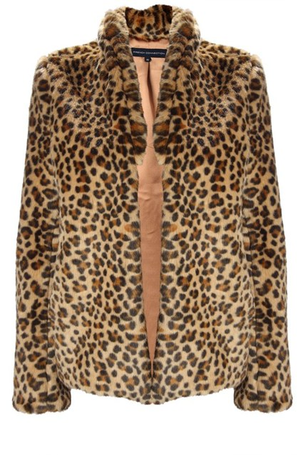 leopard love coat