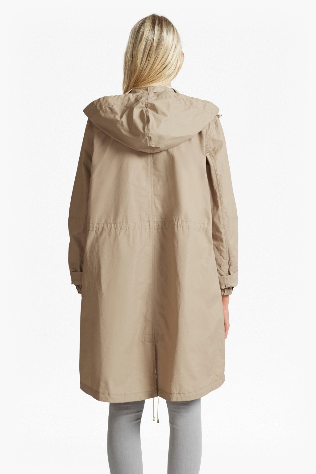 Harbour Hooded Parka Coat | Woman Hidden Inseason | French ...