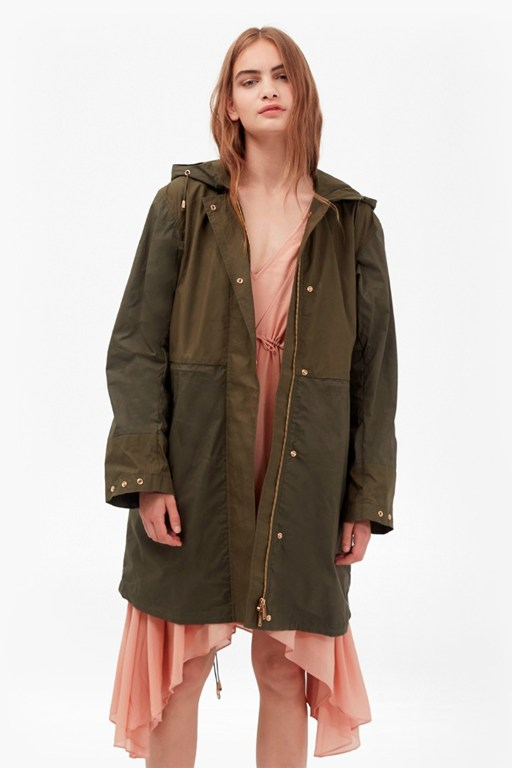 mili canvas summer parka