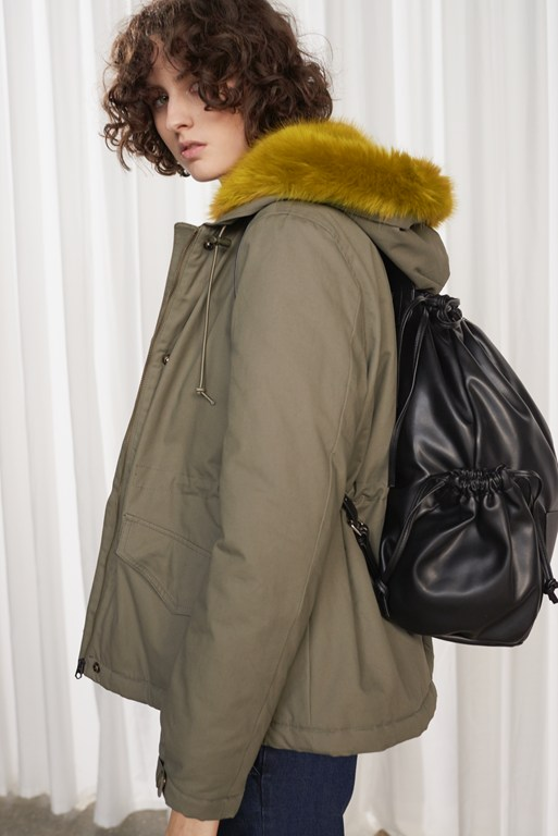 Complete the Look Syble Cotton Longline Parka