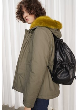 Syble Cotton Longline Parka