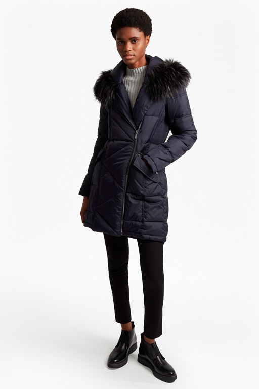Complete the Look Asymetric Oversized Fit Coat