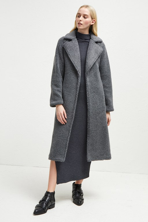 Complete the Look Arabella Faux Shearling Coat