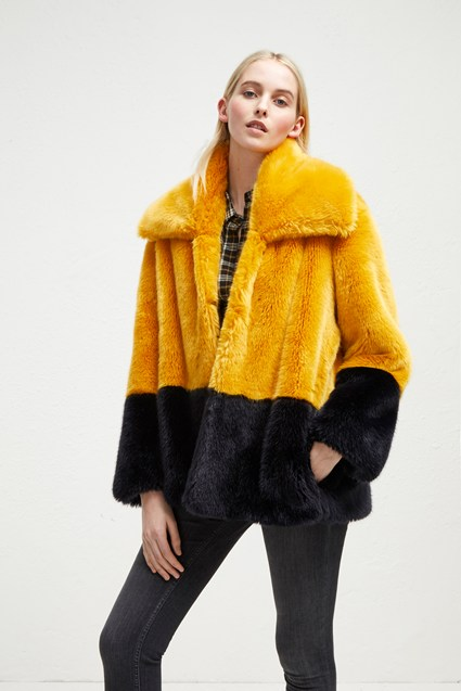 Sebille Faux Fur Coat