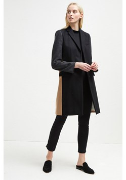 Platform Felt Colour Block Coat