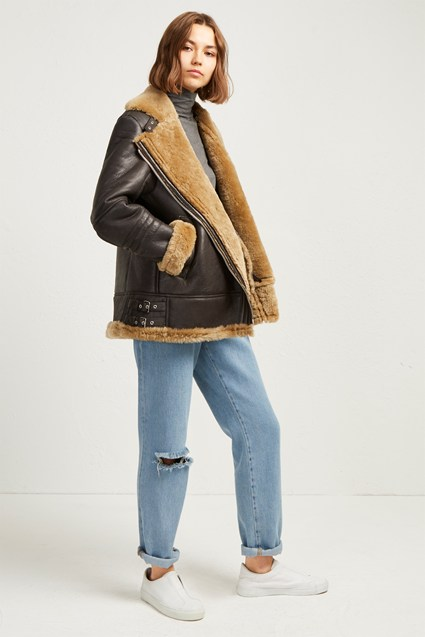 Night Toscana Shearling Jacket