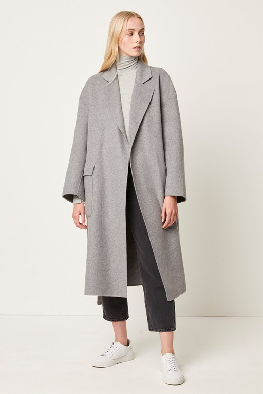 Complete the Look Agatima Wool Belted Coat