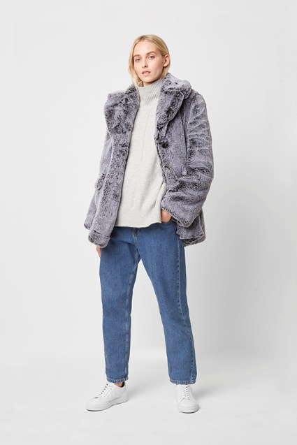 Danita Faux Fur Coat