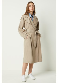 Zula Long Belted Trench Coat