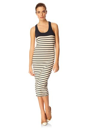 Matelot Stripe Vest Dress