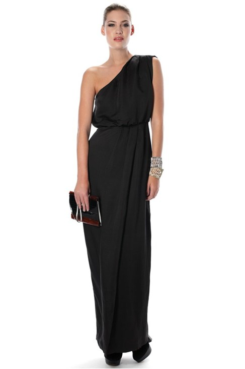 ELLA DRAPE MAXI DRESS