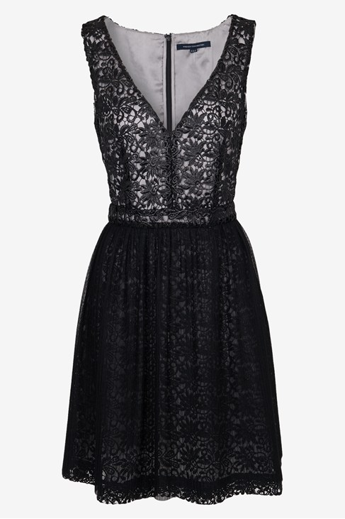 Glazed Lace Dress