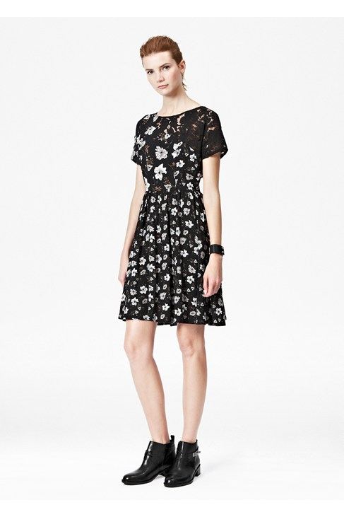 Bloomsbury Crepe Dress
