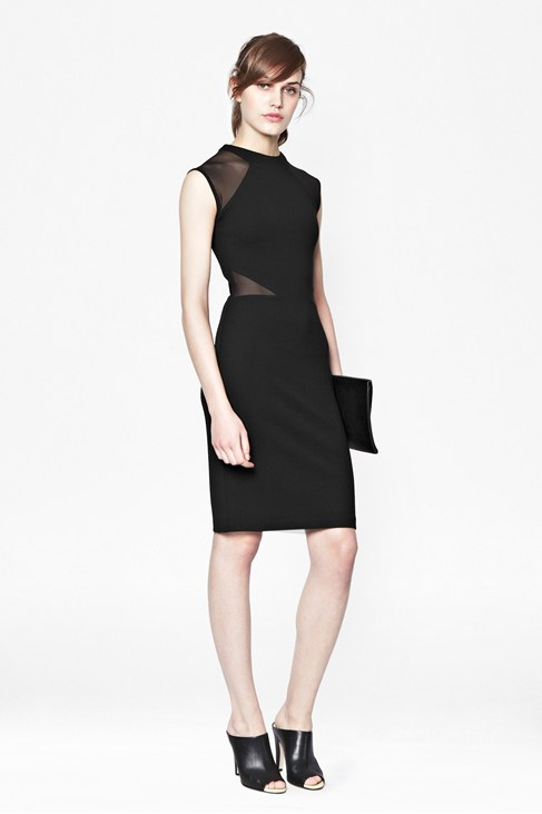 Viven Panelled Jersey Dress