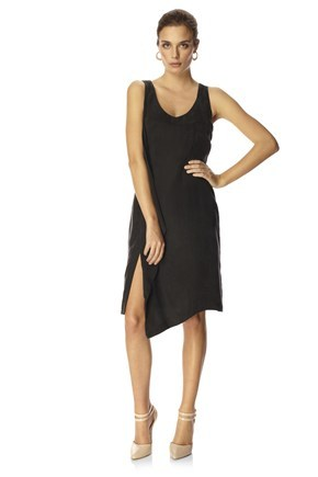 CALIFORNIA DRAPE DRESS