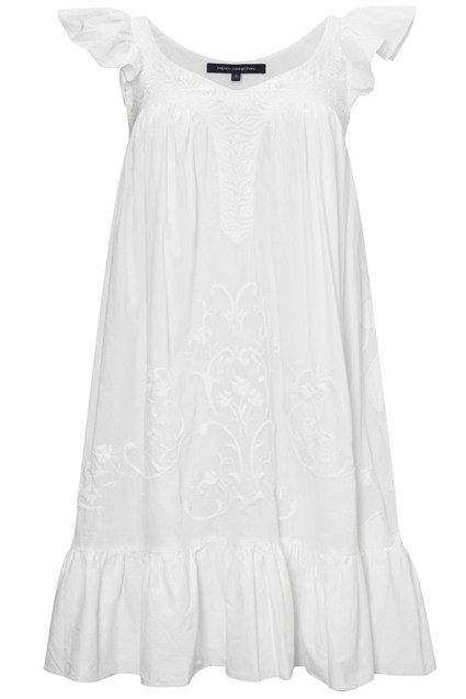 GEMMA VOILE FLARED DRESS