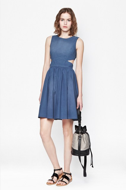 Blue Ash Denim Dress