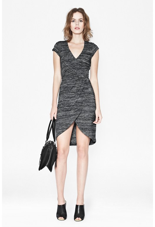 Summer Space Wrap Dress