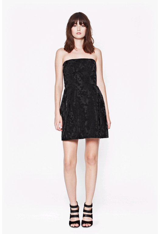 Firenze Flock Dress