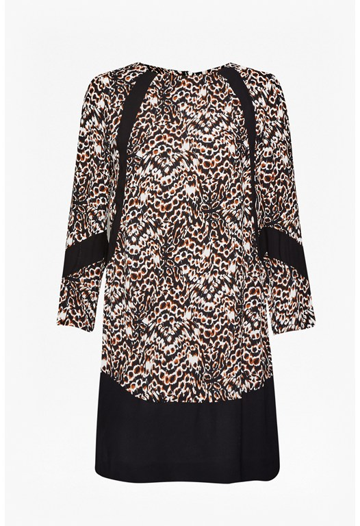 Leopard Moth Tunic Dress