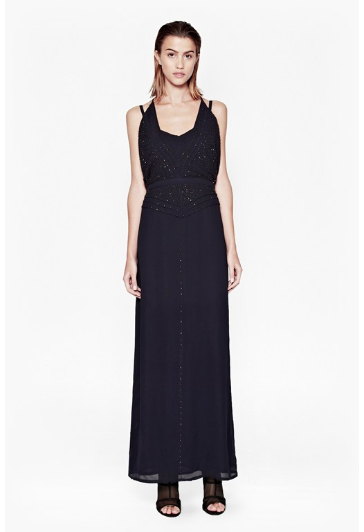 Evissa Beaded Maxi Dress
