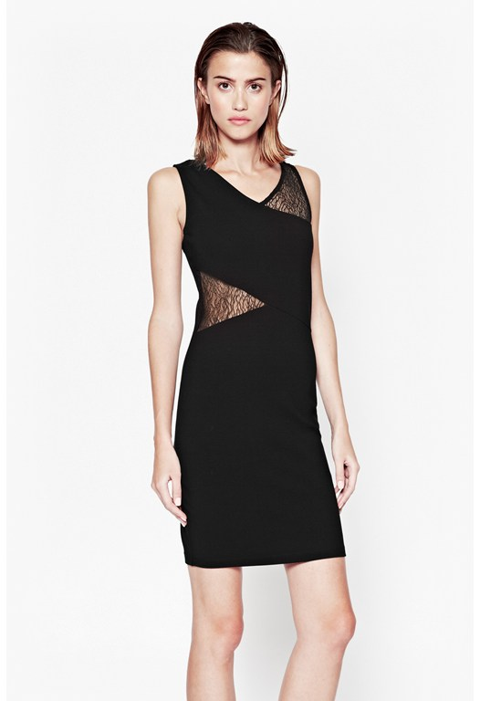 Winona Lace Trim Dress