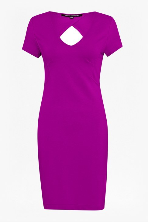Marie Stretch V-Neck Dress