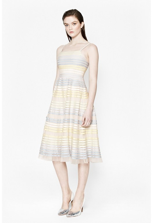 Delilah Ribbons Midi Dress