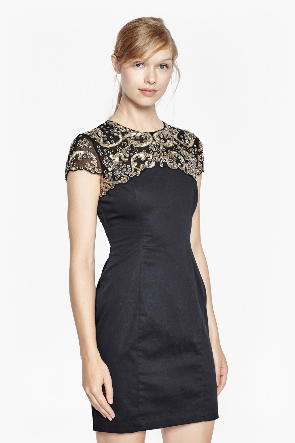 Sequin Embellished Dress  Sale  French Connection Usa