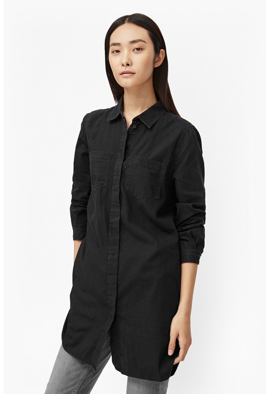 Pistols Cotton Shirt Dress