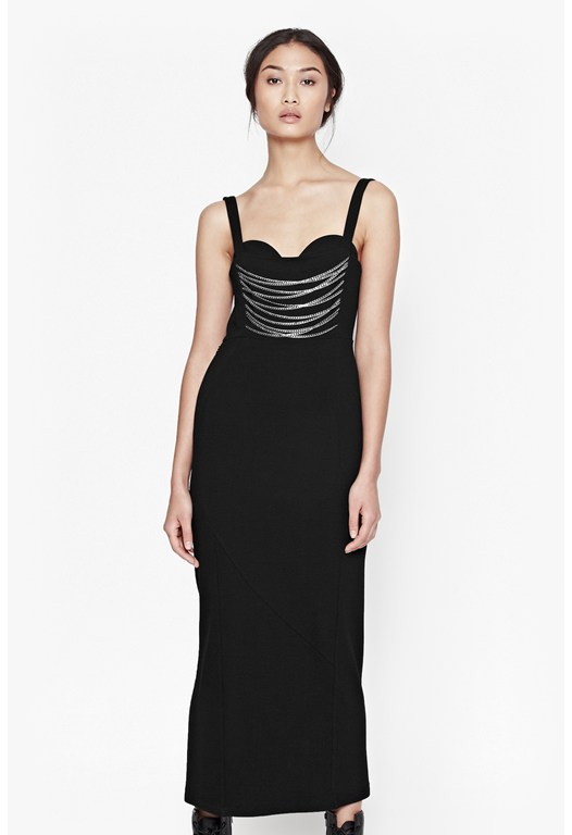 Manhattan Chain Maxi Dress