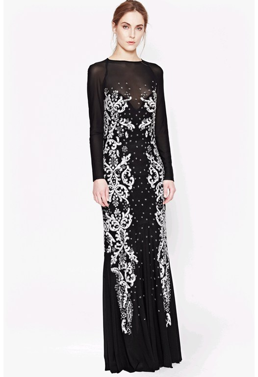 Aspen Sequin Maxi Dress