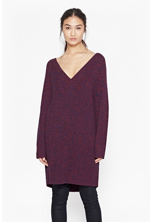 Naughty Bright Jumper Dress