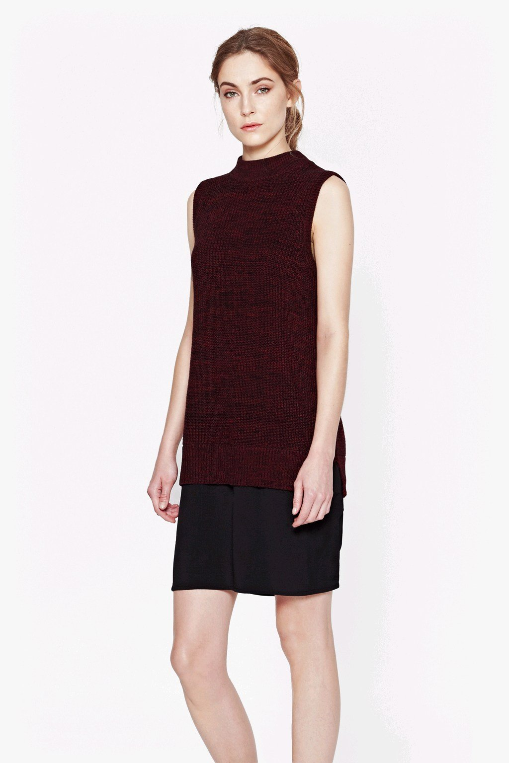 Hendy High Neck Jumper Dress