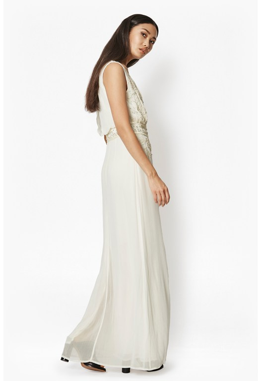 Broadway Lights Embellished Maxi Dress