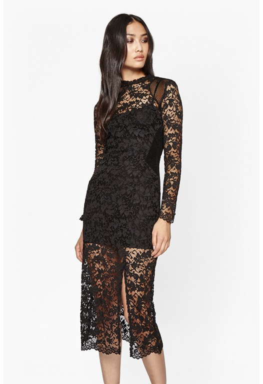Tilly Lace Midi Dress