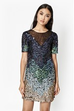 Looks Great With Cosmic Beam Sequin Dress