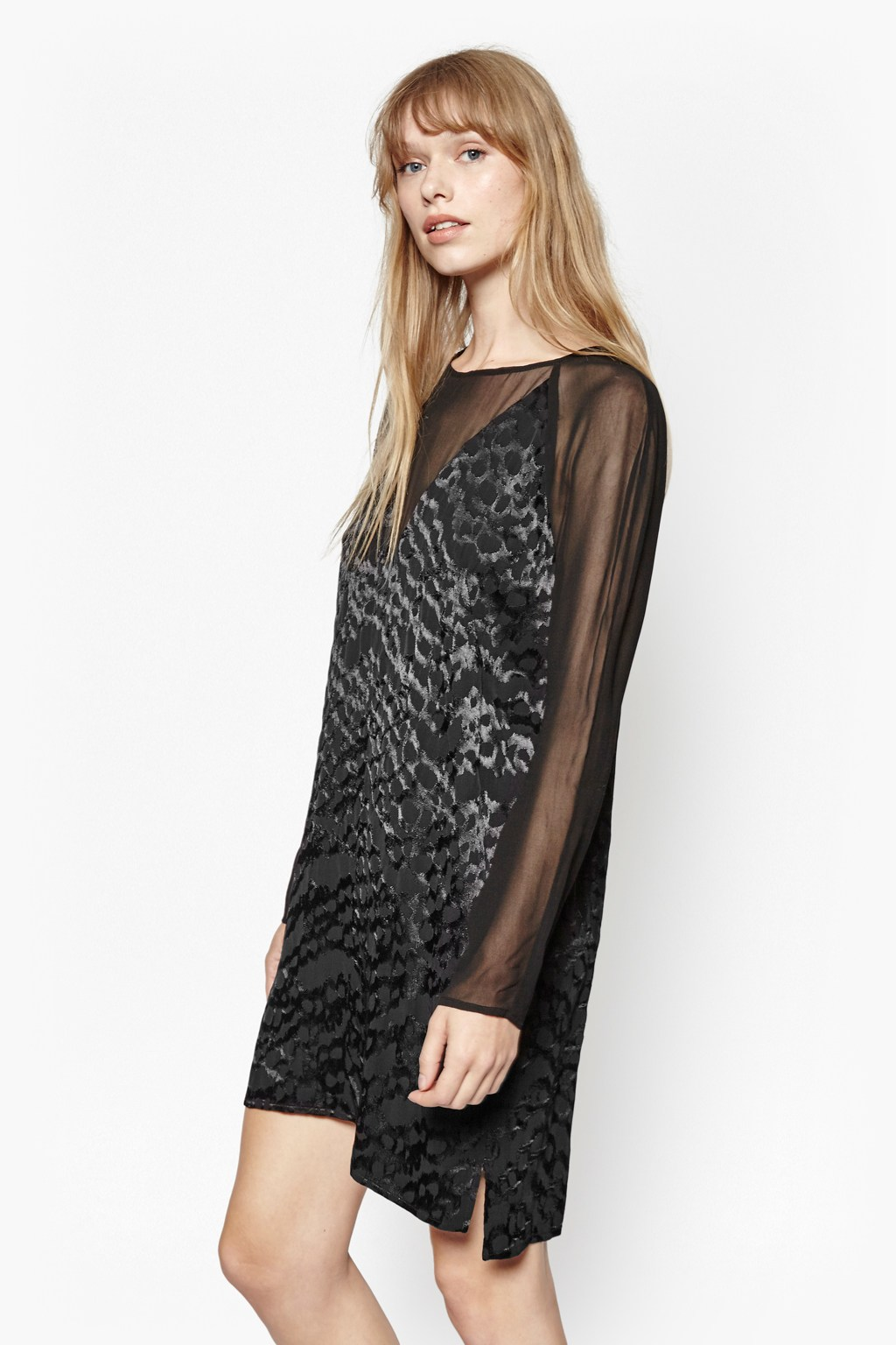 Aria Jacquard Tunic Dress