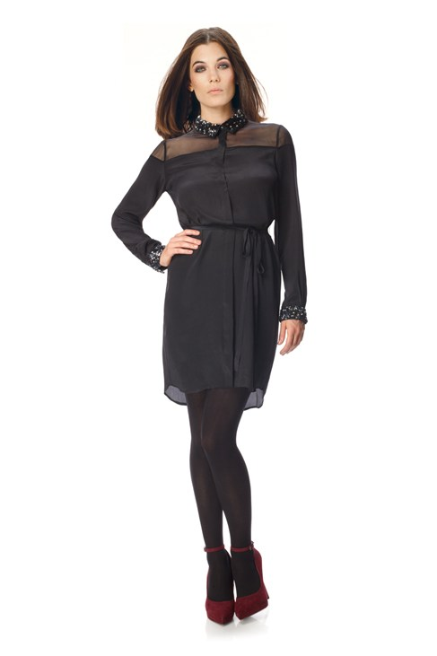 Moondust Tunic Shirt Dress