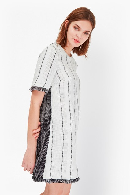 Riviera Tweed Tunic Dress