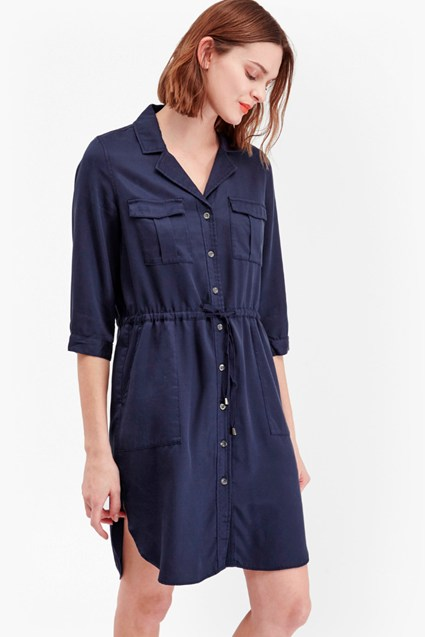 Kruger Tencel Shirt Dress