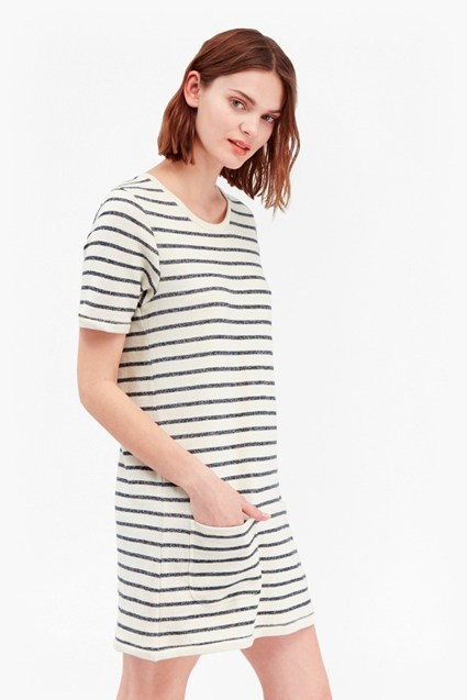 Normandy Stripe T-Shirt Dress