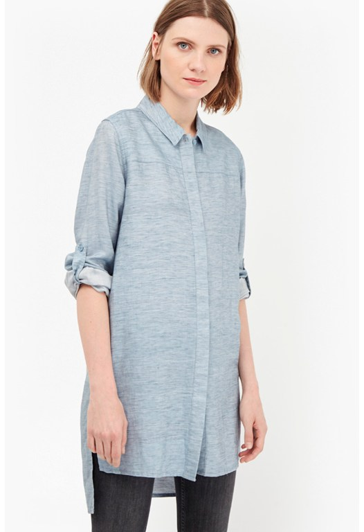 Tencel Chambray Dress
