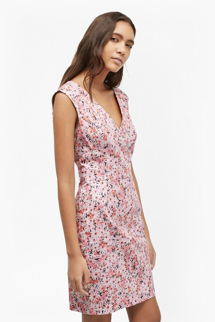 Bacongo Daisy Floral Dress