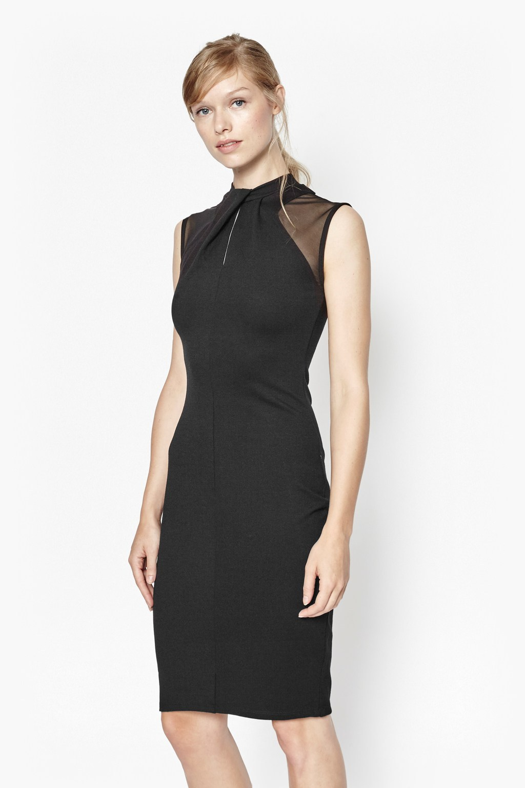 TANIA TUCK BODYCON DRESS