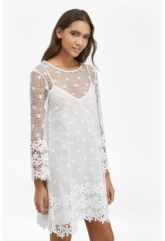 Posy Lace Bell Sleeved Dress