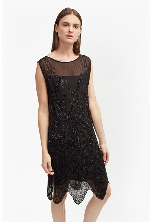 Theo Sparkle Embellished Dress