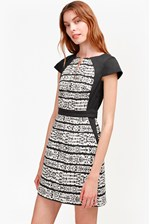Looks Great With Mayan Stripe Printed Dress